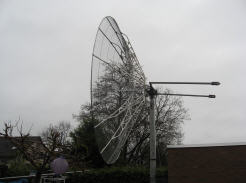 4M5 Meter dish and BIG-RAS Rotor