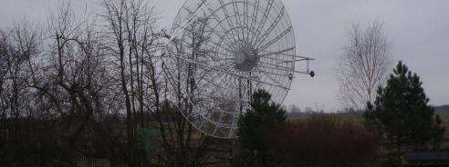 6 Meter dish and BIG-RAS Rotor