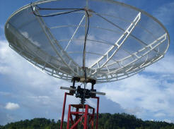 BIG-RAS/HR and 4 meter Mesh Dish (Lapan - Indonesia)