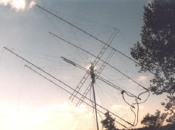 SP7DCS HAM Radio station anetenna arry and SPID BIG-RAS