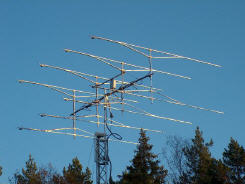 SM5IOT HAM Radio station and SPID BIG-RAS  (8x 26Ele 432MHz)