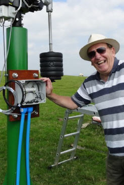 Radio Astronomy Enthusiast Mr. Dave James (UK)
