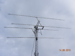 432MHZ 4 antenna Arry and RAS Rotor