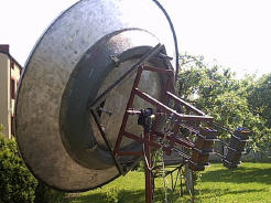 3 Meter Solid Dish and SPID BIG-RAS