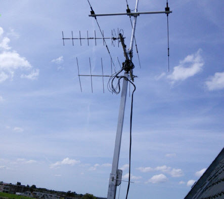 Dutch HAM Radio Station using SPID RAS Rotor (PE4H)