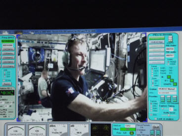 ISS Station: Acquisition of signal